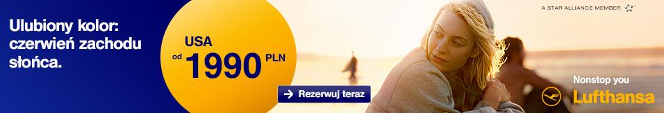 Lufthansa - Ameryka Pn