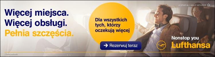 Lufthansa - nowa klasa premium